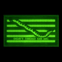 IR Tools IRパッチ Don't Tread On Me ブラック Made in USA