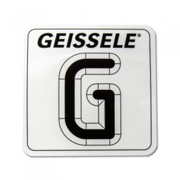 "GEISSELE Square ""G"" Sticker"